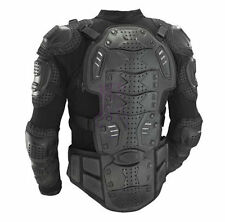 Mens Motorcycle Armor Jacket Body Guard Bike & Motocross Gear Black BDER-654