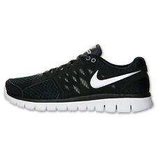Nike Flex 2013 mens running shoes in black, white & silver – hard to find!