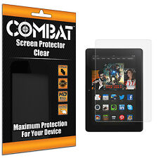 3X COMBAT HD Screen Protector Cover Shields For Amazon Kindle Fire HDX 8.9