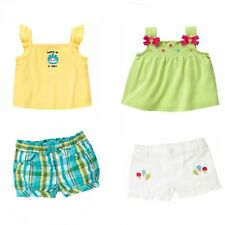 Gymboree Baby Girl 2 pc Top & Shorts Set - NWT - 3 6 2T 3T Denim,Stripes,Dot