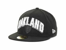 New Era 59FIFTY Oakland Raiders NFL Draft Fitted Cap Hat $35