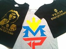 Manny Pacquiao T Shirt INFANT TODDLER YOUTH ADULT TEAM PACQUIAO MP LOGO BOXER