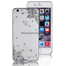 New Bling Rhinestone Flowers Back Shell Cover Case Cover for iPhone 4/4S/5/5S/6