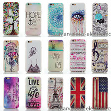 "Cute Patterned Designed Hard Back Case Cover For iPhone 4 4S/ 5 5S/ 6 4.7"" 6Plus"