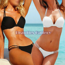Sexy Lady's Padded Push-up Swimwear Beachwear Bikini Swimsuit Sets Bandeau SML