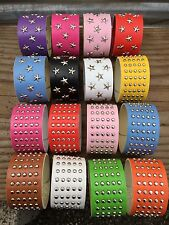 Punk-Genuine-PU-Leather-Men-Womens-Wrap-Bracelet-Wristband-Bangle-Cuff