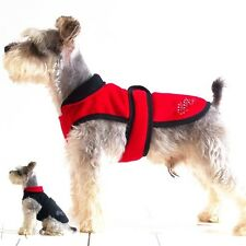 T-shape Waistline Buttonless Winter Dog Clothes for Small dogs Coat Outwear