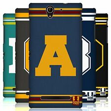 HEAD CASE DESIGNS COLLEGE VARSITY HARD BACK CASE FOR SONY XPERIA C3 D2533