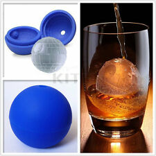 2/5/10 DIY Round Cocktails Ball Star Wars Death Star Silicone Mold Ice Cube Tray