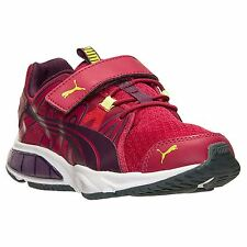 Kids Shoes Puma POWERTECH VOLTAIC Running Shoes Youth Sizes Red/Purple NWB