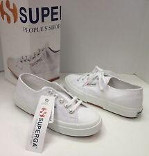 Superga Cotu Classic 2750 sneakers shoes white New in Box!