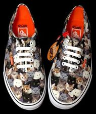NEW Vans Women's Size Special Edition Authentic ASPCA Cats Kittens with tags Box