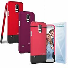 Encased Slider Series Ultra Thin Hard Case + Screen Guard For Samsung Galaxy S5