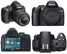 Nikon D D3000 10.2 MP Digital SLR Camera - Black (Kit w/ 18-55mm Lens)