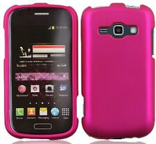 ROSE PINK Snap-On Cover for Samsung Galaxy Ring / Prevail 2 II SPH-M840