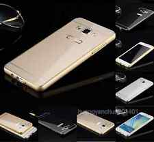 Luxury 2 in 1 Metal Aluminum Frame + Acrylic Back Case Cover For Samsung Galaxy