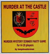 HOST A 'GOTHIC HORROR' MURDER MYSTERY DINNER PARTY GAME ~ FOR 6-10 PLAYERS