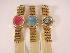 MICHAEL KORS LEXINGTON MINI WATCH MK3270 PINK MK3271 MK3300 ZEBRA MK3284 ORANGE