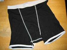Men's Black White American Apparel Boxer Brief Small S Medium M Large L XL