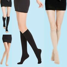 Men/Women Compression Calf Support High Socks 15-30/30-40/40-50 mmHg Stockings