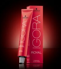 Schwarzkopf Igora Royal Permanent hair color crème dye all shades new colour
