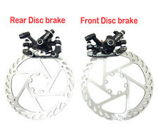 MTB Mountain Bicycle bike Mechanical Disc Brake Front and Rear 160mm + G2 Rotors