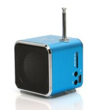 New Mini Speaker Music Player FM Radio USB Micro SD For iPhone iPod PC Computer
