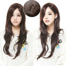 Lovely Korean Girl Style Wig Long Curly Wavy Sexy Hair Costume Cosplay Full Wigs
