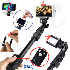 Strong Selfie Stick Monopod Rechargeable Bluetooth Remote Mobile Phone Holder