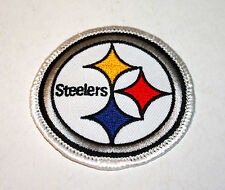 "PITTSBURGH STEELERS 2 5/8"" Embroidered Logo Patch"