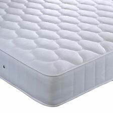 Bedmaster orthopaedic  bonnell sprung mattress quilted damask medium bedroom