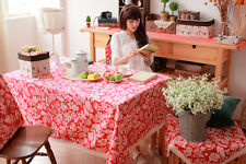 """86""""X55"""" Rectangle Cotton Table Cloth Table Cover Floral Kitchen 172"""