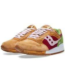 END x Saucony Shadow 5000 'Burger' Light Brown Red Green 70142-1