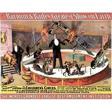 NEW Barnum & Bailey Greatest Show On Earth Circus Poster Home Decor Poster Art