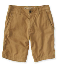 aeropostale mens solid walk shorts