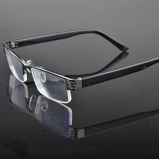 New Reading glasses coating metal half-frame reading glasses 1.0 to 4.0 Hot