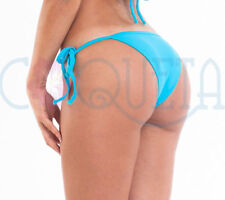 COQUETA swimwear Brazilian Bikini swimsuit Bottom OASIS tie side TURQUOISE BLUE