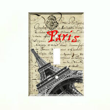 Paris France Eiffel Tower Light Switch Plate Wall Cover French Decor