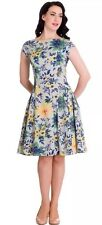 HELL BUNNY HOPE floral SUMMER DRESS