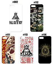 Hot Famous Band Fall Out Boy FOB Pattern Case Cover For iPhone Samsung Galaxy