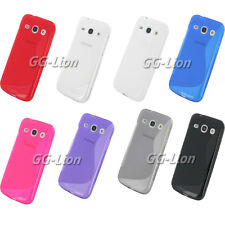 Soft TPU Gel Silicone Case Cover Skin for Samsung Galaxy Core Plus / Trend 3