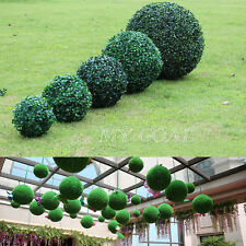 Artificial Ball Plant Leaf Boxwood Topiary Tree Wedding Home Patio Outdoor Decor