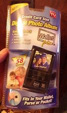 WALLET PIX Credit Card Size Digital Photo Album - BRAND NEW In Retail Package!
