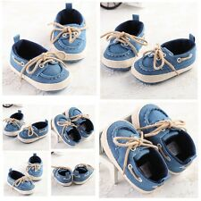 3 Size Non-slip Baby Toddler Boy Girl Sneaker Crib Bow Shoe Bowknot Infant #BS40