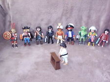 playmobil: 5458 series 6 male figures 10 different types (brand new)