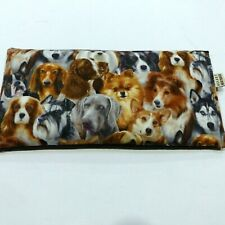 Large Wheat Heat Pack 34 x 17cm Bag Multi Dogs- Lavender, Chamomile, Unscented