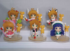 Cardcaptors Japanese Anime Mini Figures Boxed 8cm CHN Ver. Sakura & Kero etc