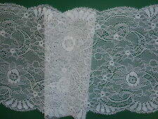 """*The Place For Lace*  4 METRES Vintage Ivory Lace Trim 7.5""""/19cm  Wedding Crafts"""