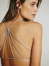 NEW Free People Intimately Seamless Nude Strappy Back Bra Sz XS/S-M/L $30