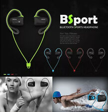 Fashion Bluetooth Wireless Sports Stereo Sweat Proof Headsets Headphone Earphone